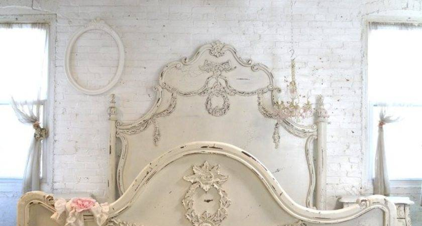 Painted Cottage Shabby Chic French Romantic Queen King Bed