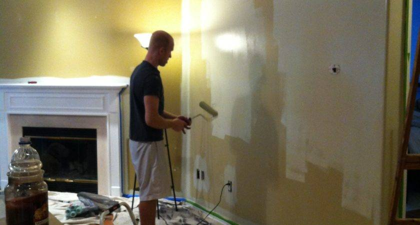 Painting Living Room Kitchen Mace Place Color