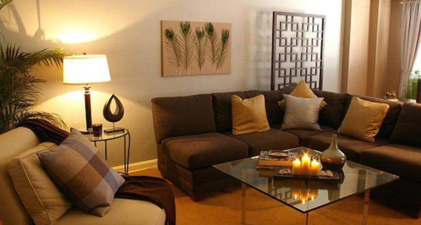 Painting Living Room Two Colors Tone Color