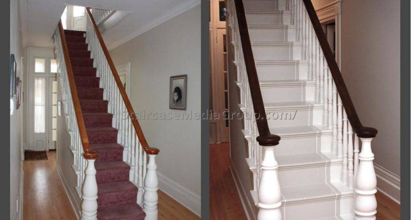 Painting Staircase Spindles Ideas Best - Designs Chaos