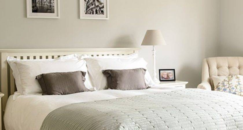 Pale Grey White Bedroom Decorating Housetohome