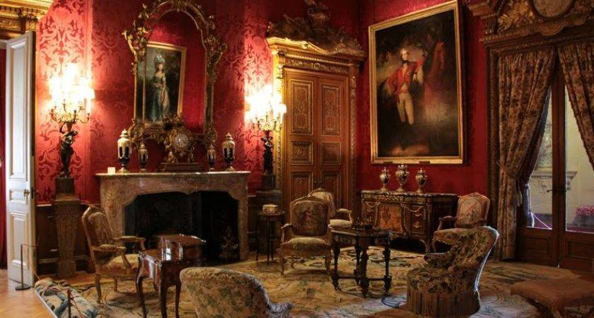 Panoramio Red Room Waddesdon Manor
