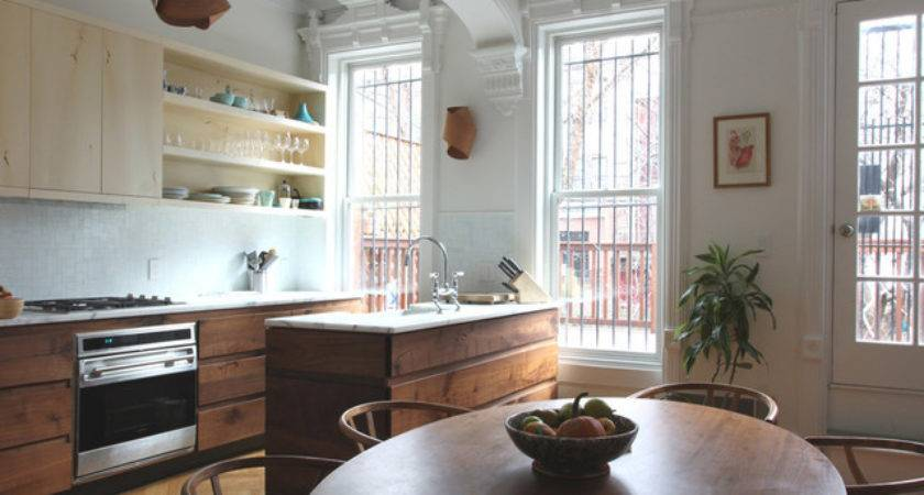 Park Slope Brownstone Contemporary Kitchen New York