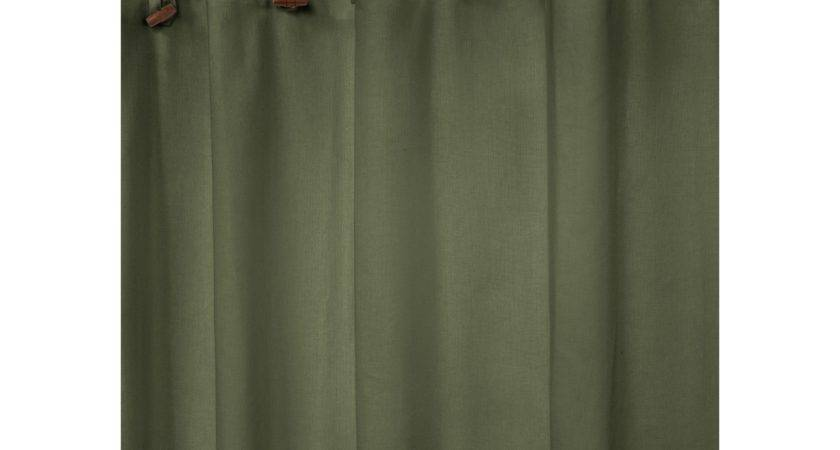 Park Smith Eco Astor Recycled Shower Curtain