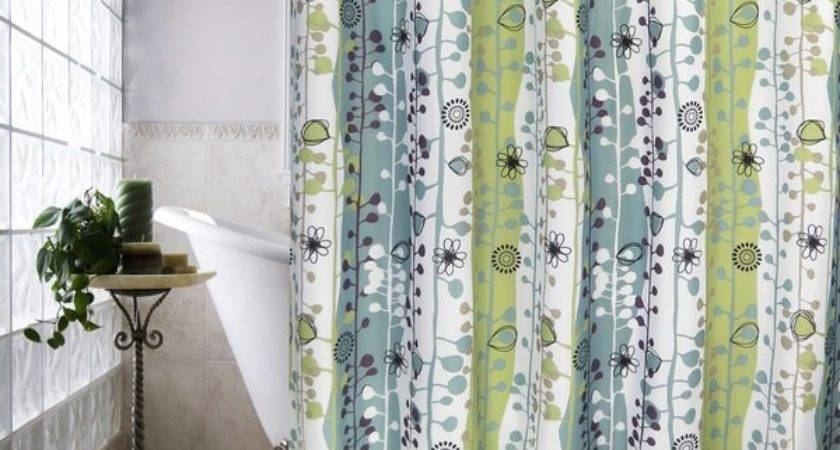 Park Smith Sproutin Watershed Shower Curtain