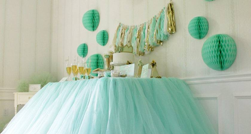 Party Decorating Tulle Myideasbedroom