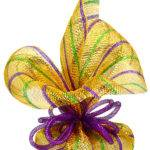 Party Ideas Mardi Gras Outlet Gift Wrap