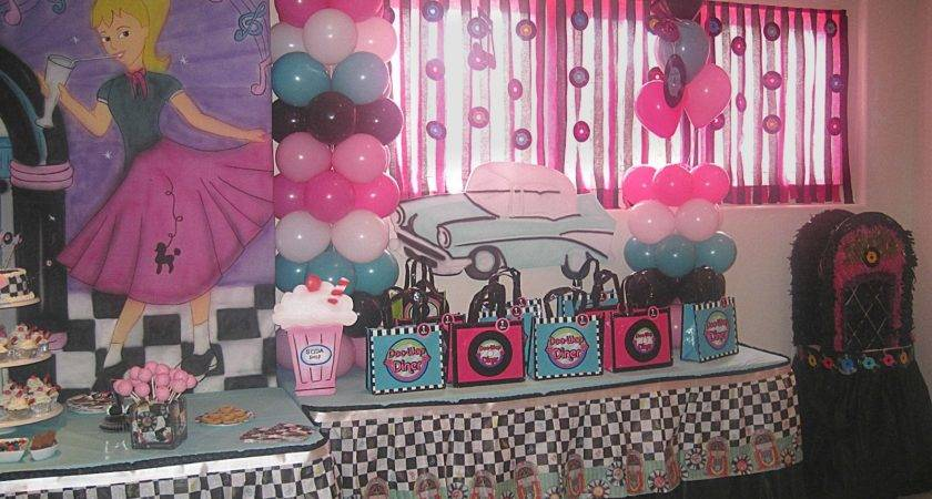 Party Tales Birthday Diner Sock Hop