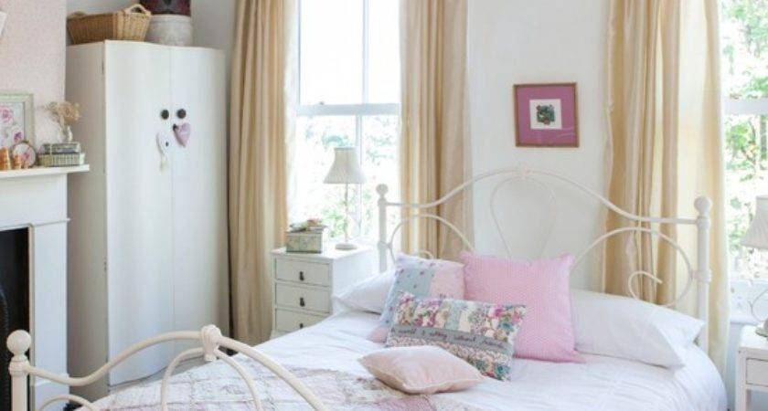 Pastel Country Bedroom Decorating Housetohome