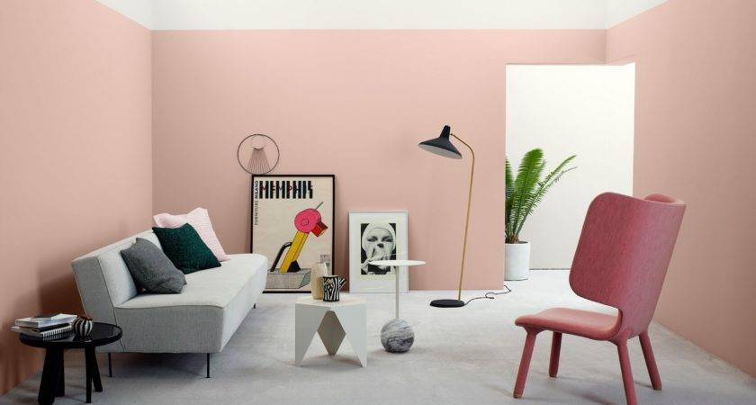 Pastel Pink Wall Paint Color Trends Architecturein