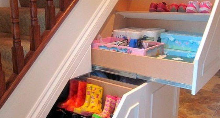 Perfect Under Stairs Storage Ideas Small Homes