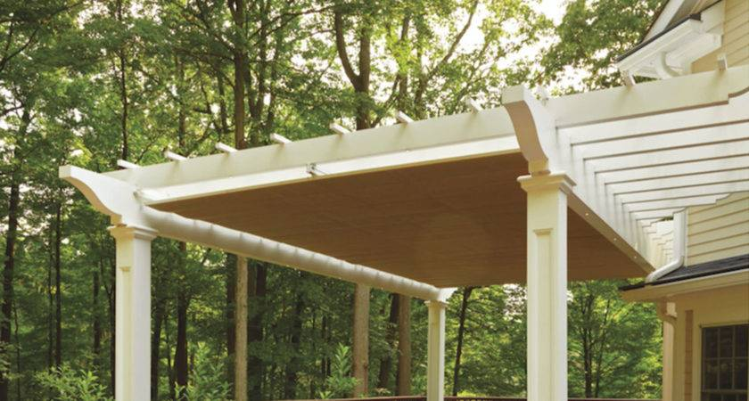 Pergola Design Attached Freestanding Hybrid