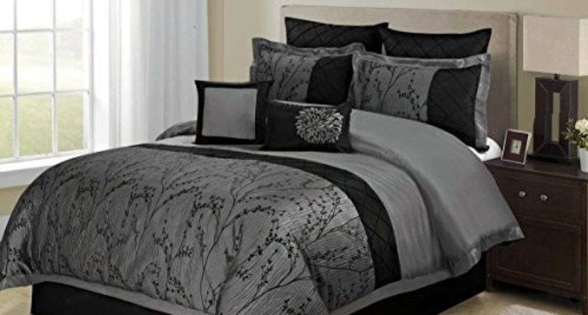 Piece Weistera Jacquard Tree Branches Comforter Sets