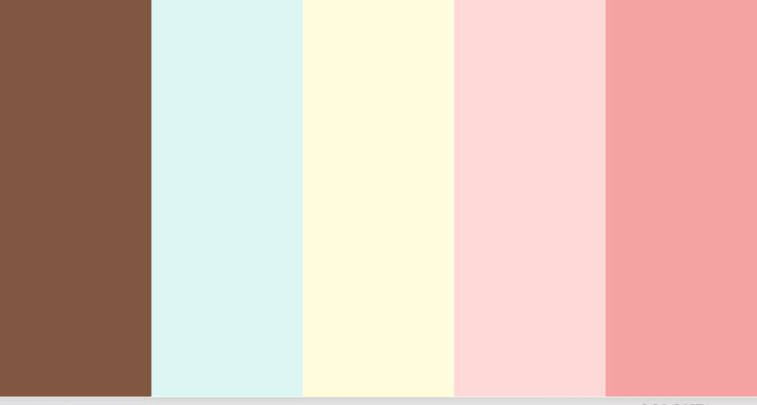 Pink Blue Color Palettes Try Month March