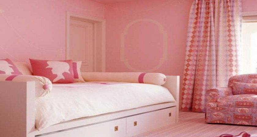Pink Paint Bedroom Hot Colors
