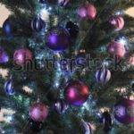 Pink Purple Christmas Decorations Designcorner