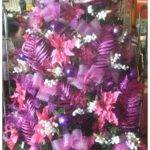 Pink Purple Christmas Tree Decorations Decore