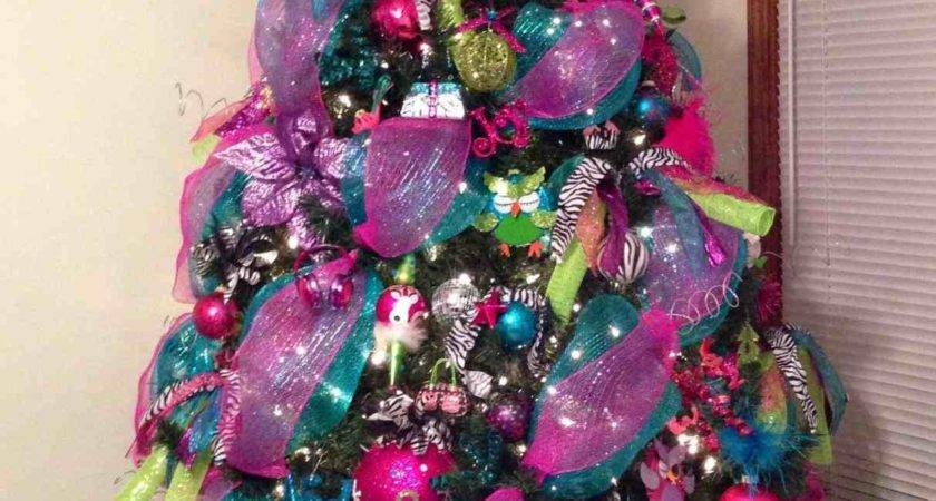 Pink Purple Christmas Tree Decorations Temasistemi