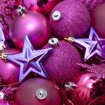 Pink Purple Christmas
