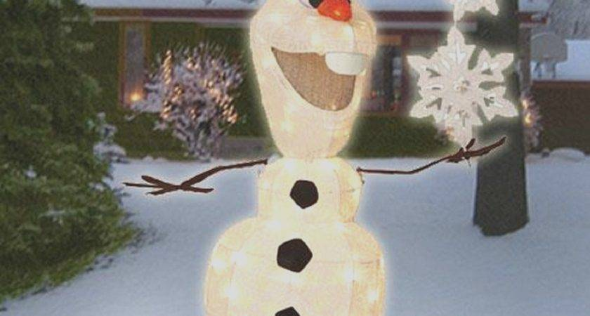 Plastic Outdoor Snowman Christmas Decorations Lovely