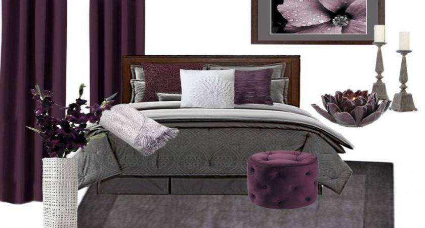 Plum Colored Bedroom Colors Compliment