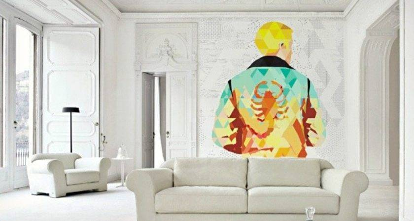 Polygon Art Movie Wall Murals Cool Material
