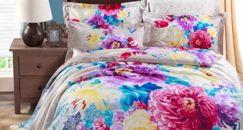 Popular Colorful Paisley Bedding Buy Cheap