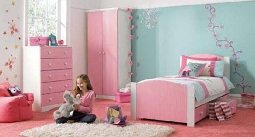 Popular Girls Bedroom Ideas Blue Pink Little