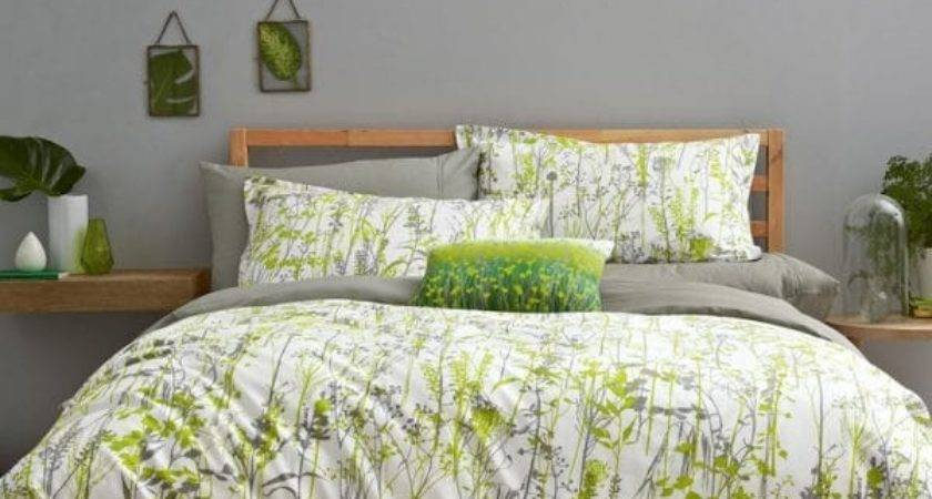 Prairie Double Bed Linen Grey Green Clarissa Hulse