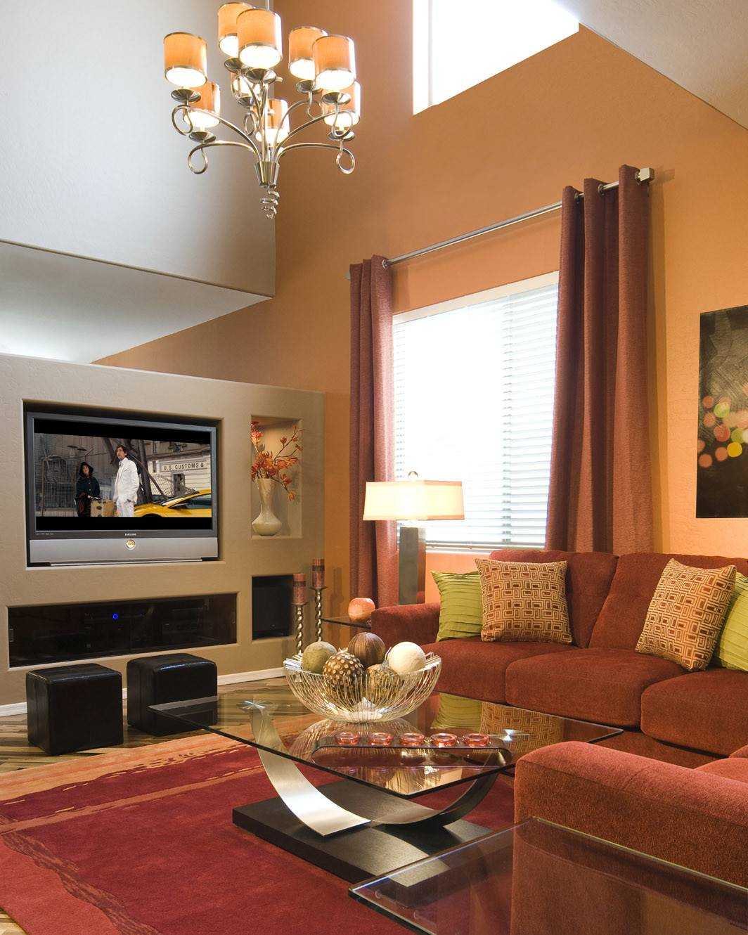 pretty living room beige accents wall feat brown  designs