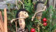 Primitive Grungy Stick Horse Christmas Ornaments Luulla