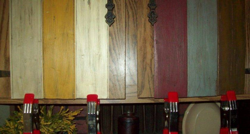 Primitive Painted Kitchen Cabinets Inside Paint