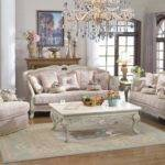 Provincial Living Room Set Antique White