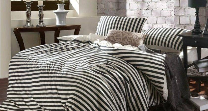 Pure Cotton Classic White Black Stripes Piece