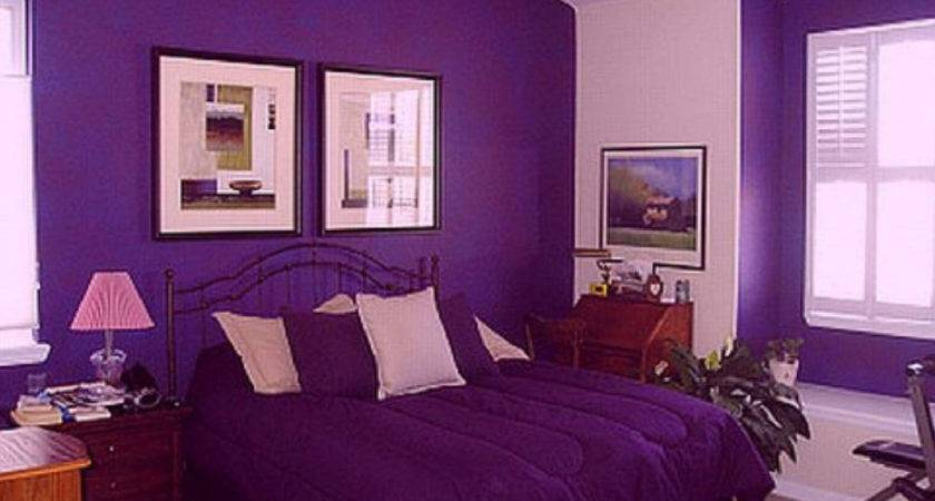 Purple Orange Bedroom Decor Diy Makeover