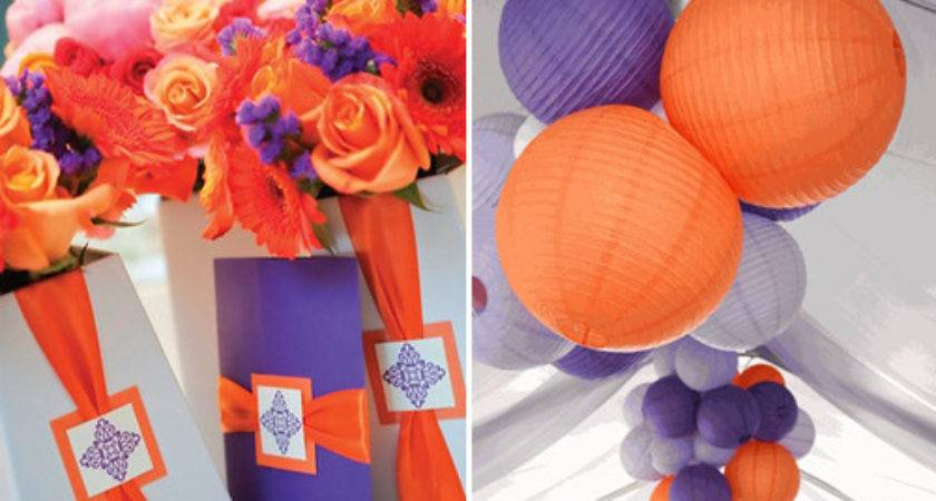 Purple Orange Weddings