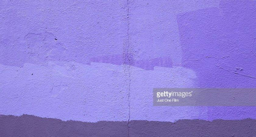 Purple Painted Wall Getty