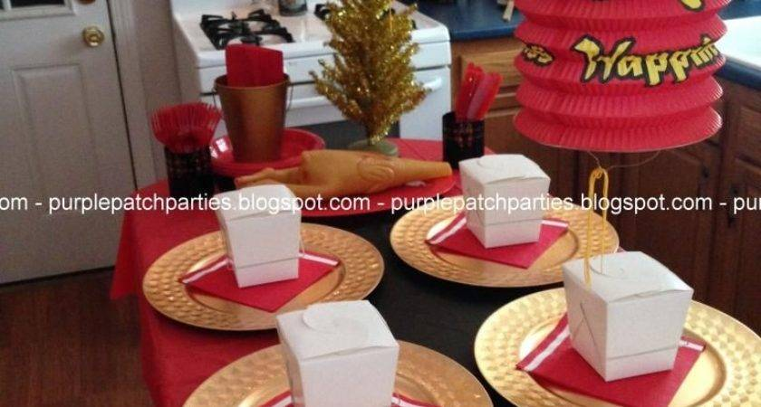 Purple Patch Christmas Story Themed Party