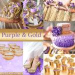 Purple Wedding Color Combination Options Exclusively