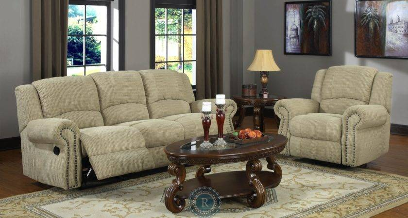 Quinn Olive Beige Living Room Set Homelegance