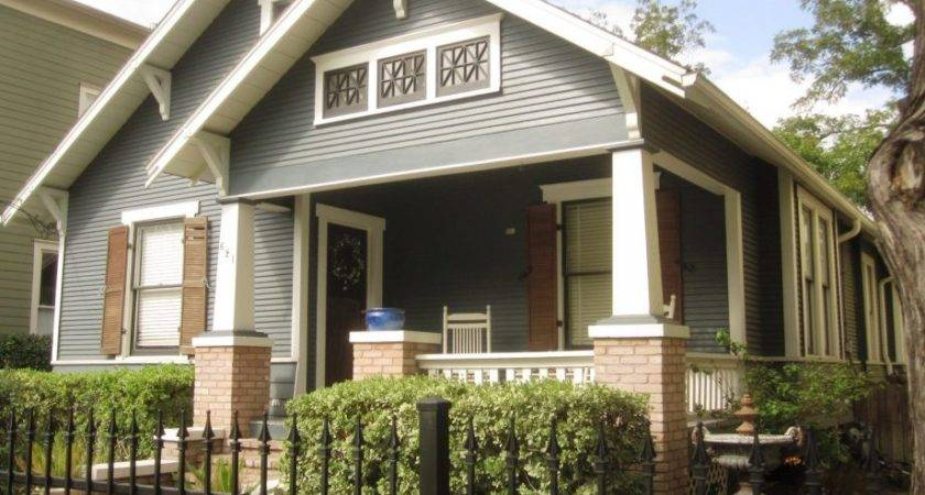 Quirky Combination Exterior House Paint Color Ideas