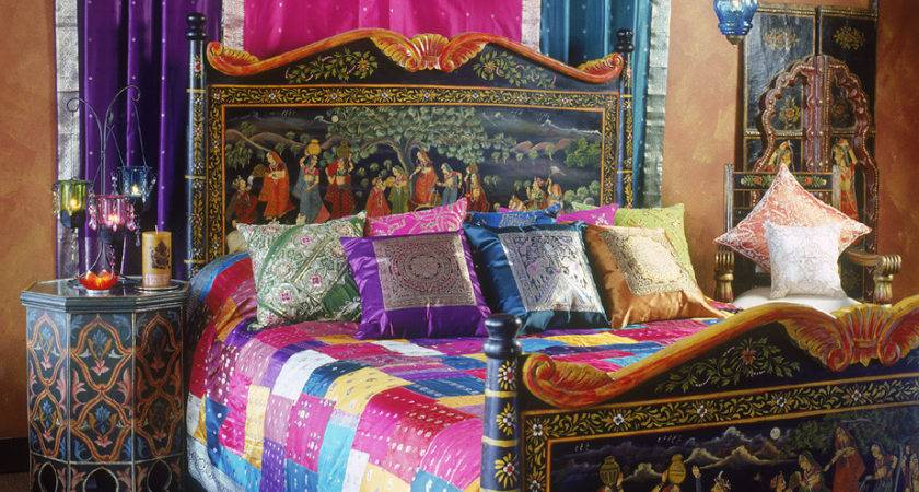 Really Pretty Bohemian Style Bedding Bedroom Nowadays