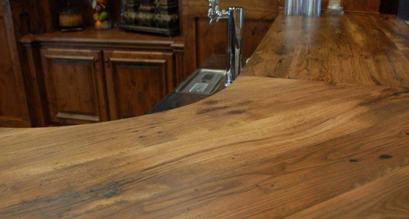 Reclaimed Antique Wood Counter Tops Table Bar