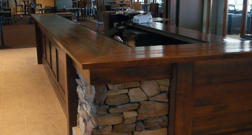 Reclaimed Wood Countertops Bar Table Tops