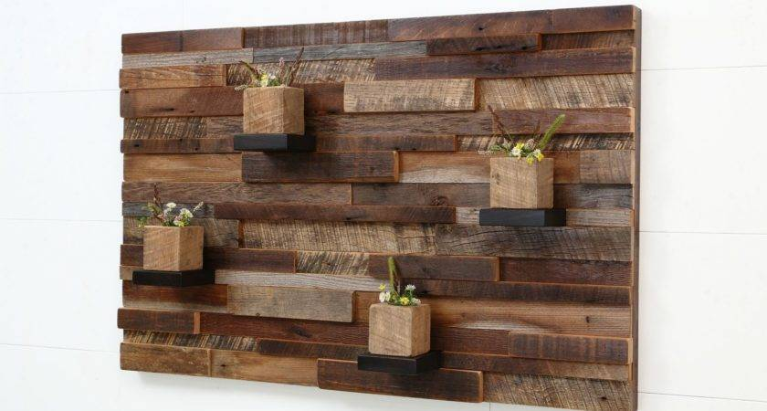 Reclaimed Wooden Pallet Wall Art Recycled Things
