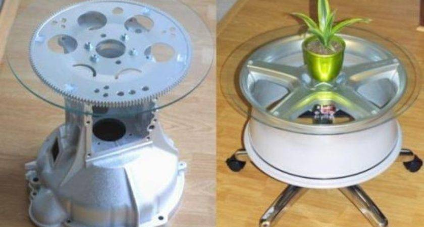 Recycle Recycling Old Auto Spare Parts