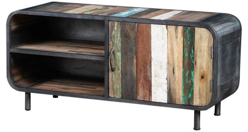 Recycled Boat Wood Stand Wayfair