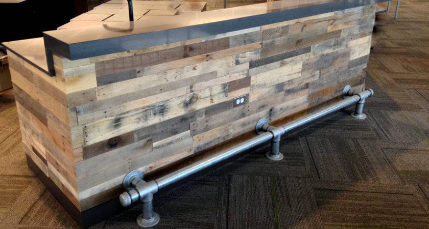 Recycled Pallet Wood Wall Paneling Sustainable Lumber