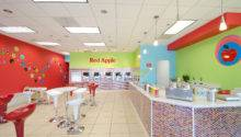 Red Apple Frozen Yogurt Interior Design Shop