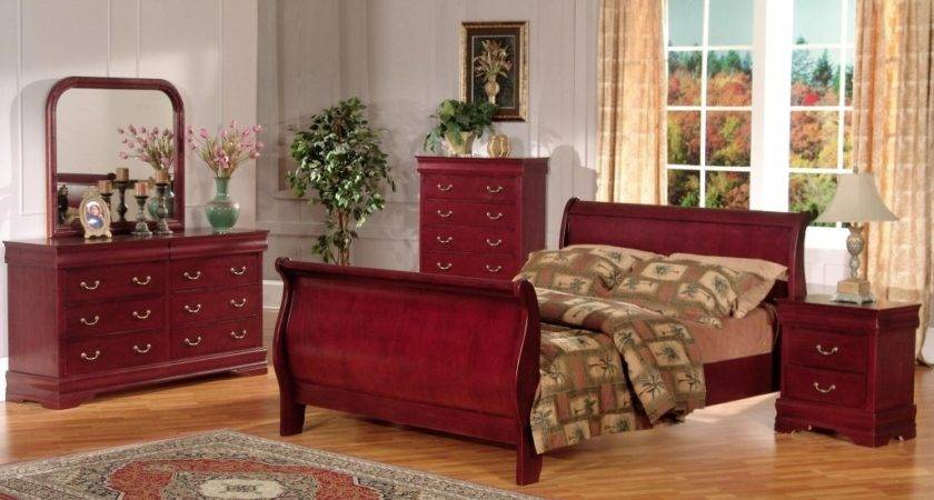 Red Bedroom Furniture Collections Design